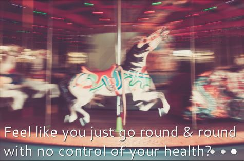 merry go rnd with text